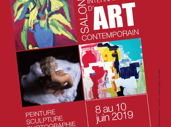 Salon International d'Art Contemporain - Art shopping Biarritz avec 100 artistes - Pays Basque France Juin 2019