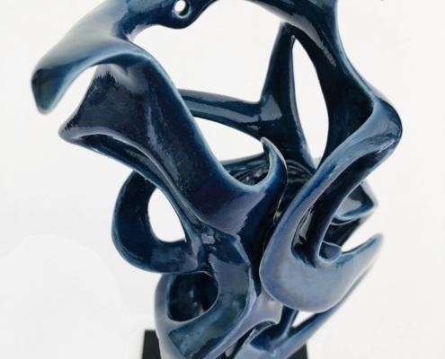 Volute océane Brise Marine Julie Espiau Sculptures céramiques contemporaines Nantes 4