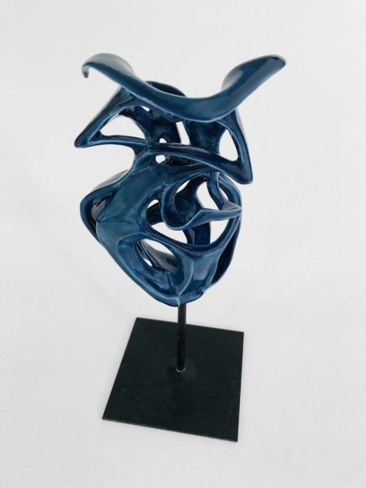 Volute océane Brise Marine Julie Espiau Sculptures céramiques contemporaines Nantes vue 2