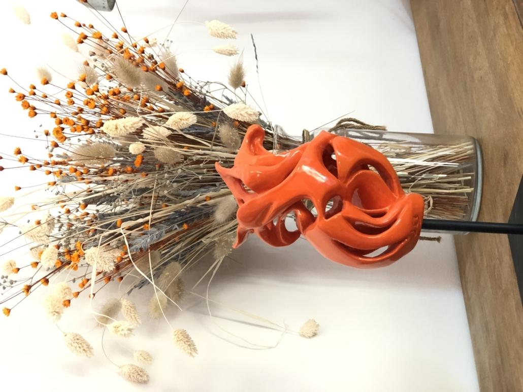 Volute océane Virevolte Julie Espiau Sculpture Céramique Contemporaine
