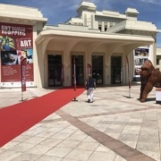 casino de Biarritz salon d'art conteporain Julie Espiausculpture céramique contemporaine