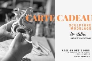 Carte cadeau Atelier artistique modelage