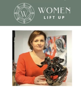 Portrait de Julie Espiau Artsite sculpteur céramiste sur le blog de Women Lift up