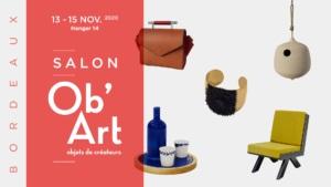 salon Obart Bordeaux métiers d'art Ateliers d'art de france