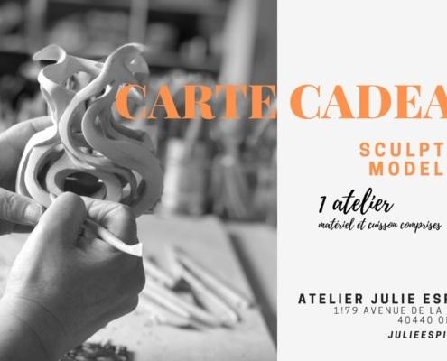 Atelier d'art Julie Espiau Bon cadeau atelier de modelage sculpture